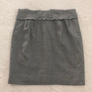 J crew pencil skirt, never worn